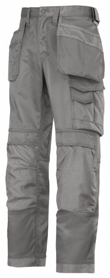 Snickers 3214 Canvas+ Craftsmen Holster Pocket Trousers (Grey)